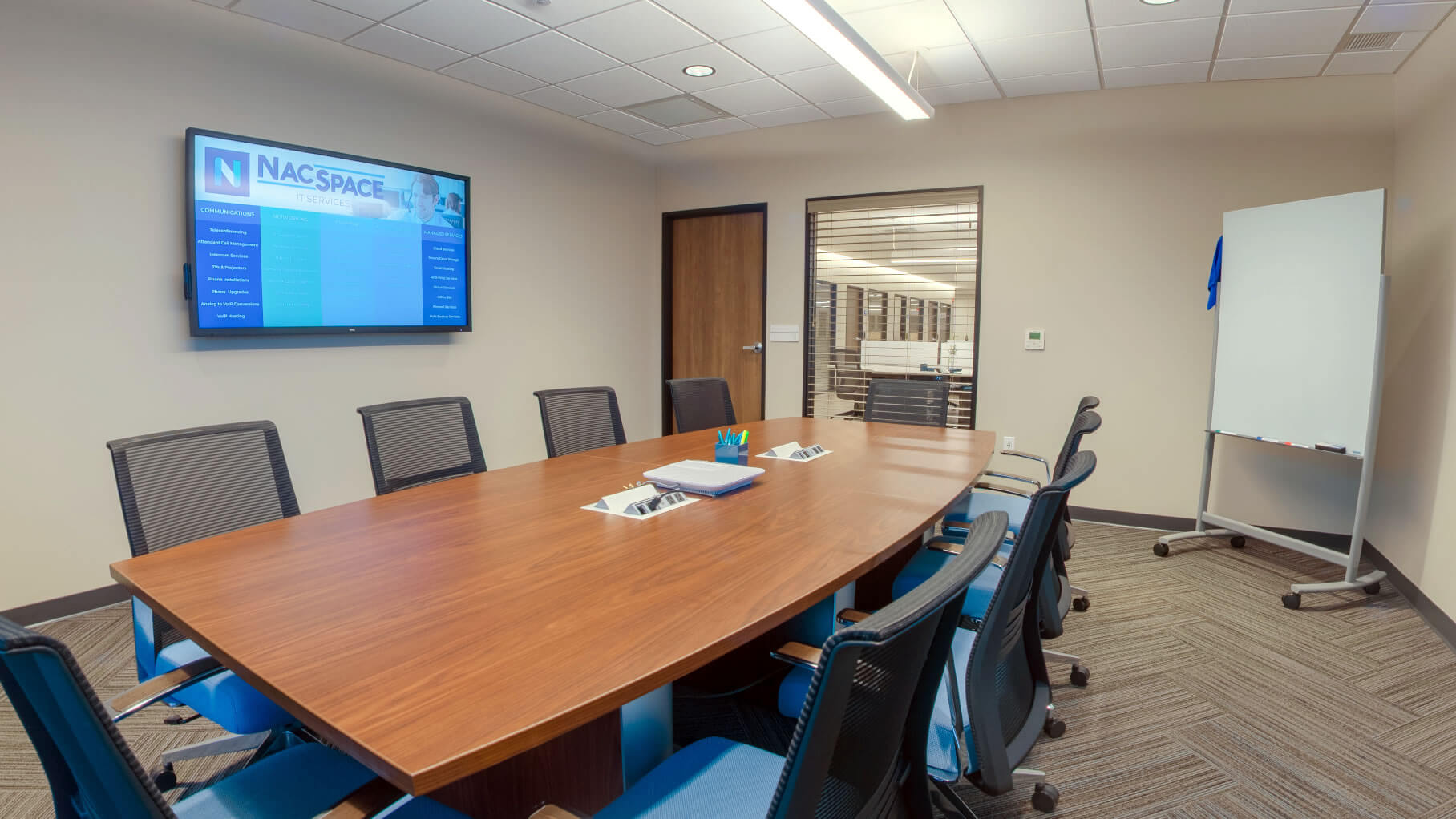 Conference room for attorneys and clients of ADR mediation or arbitration, main office in Nacogdoches, TX in deep east Texas.