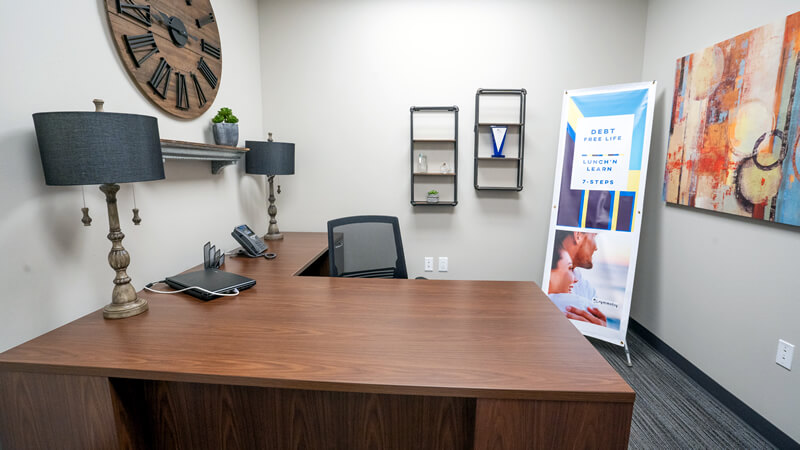 Private ADR office for attorney and client breakout meetings for peaceful, civil, smooth mediation or arbitration in East TX